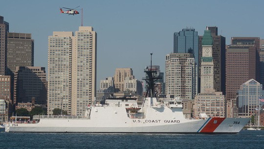 Tàu Cảnh sát biển Mỹ tháo lui khi gặp tàu tuần tra Venezuela  - Ảnh 1.