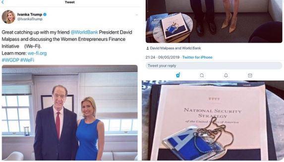 Công chúa Nhà Trắng làm dậy sóng mạng xã hội chỉ vì 1 tập tài liệu  - Ảnh 1.