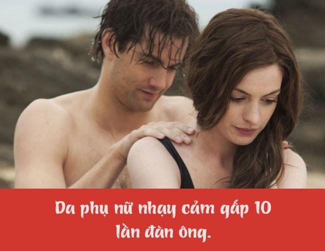 14 điểm khác nhau giữa nam và nữ mà chả mấy ai biết: Da phụ nữ nhạy cảm gấp 10 lần - Ảnh 6.