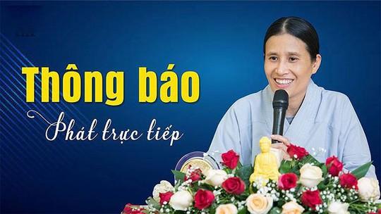 Trụ trì chùa Ba Vàng nói gì về việc bà Phạm Thị Yến tái xuất đăng đàn thuyết giảng?  - Ảnh 1.