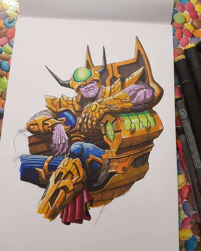 Nếu Thanos trong Avengers: Endgame hợp thể với Freeza trong Dragon Ball thì nhân vật bá đạo nào sẽ xuất hiện? - Ảnh 1.
