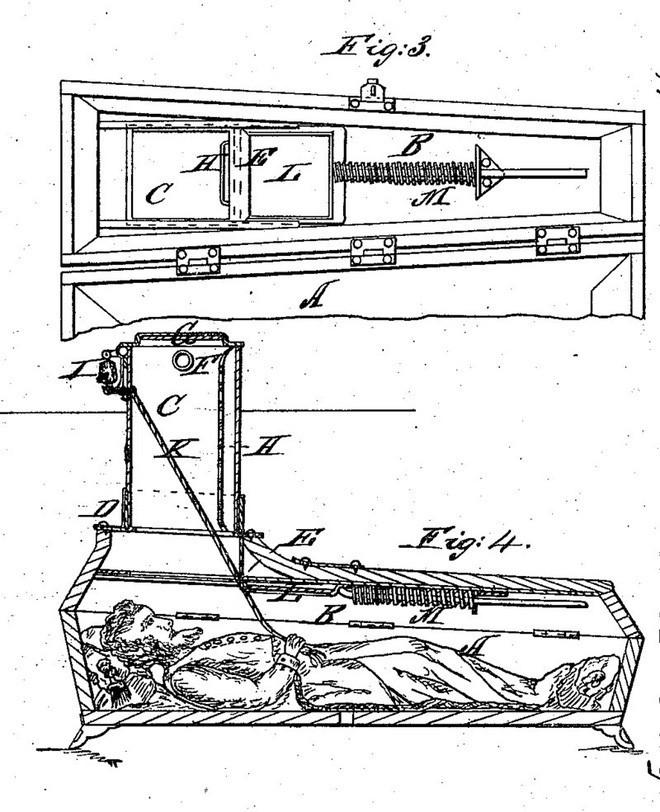 Taphophobia: Nỗi sợ tỉnh lại trong quan tài và những phát minh hầm mộ độc nhất trong lịch sử - Ảnh 5.