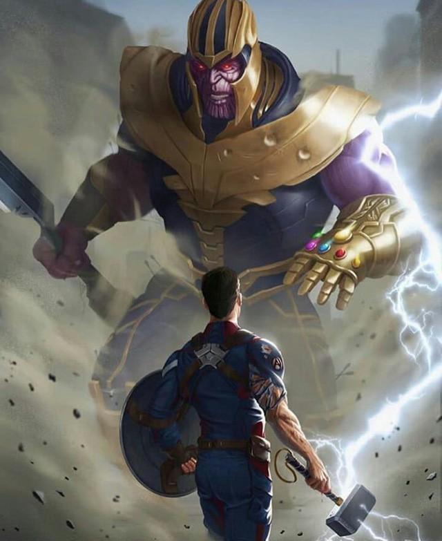 Avengers: Endgame - Thanh đao của Thanos bá đạo thế nào mà có thể chém khiên của Captain America như chém bùn? - Ảnh 1.