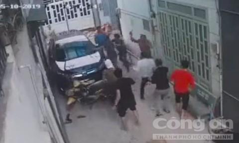 Mâu thuẫn ăn nhậu, thanh niên bị chém chết ở Sài Gòn - Ảnh 1.