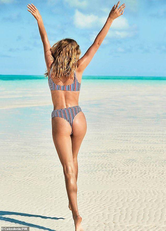 Bạn gái con trai Kẻ hủy diệt Arnold Schwarzenegger gợi cảm với bikini - Ảnh 2.