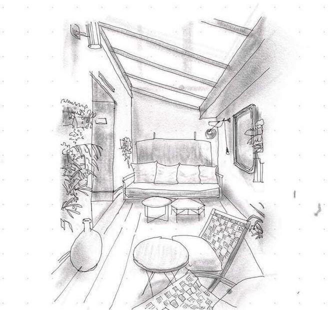 Xôn xao chuyện SV Kiến trúc bị tố lấy ảnh thật trên mạng chỉnh sửa thành bản vẽ, nhận là tác giả rồi đặt caption so deep trên Instagram - Ảnh 4.