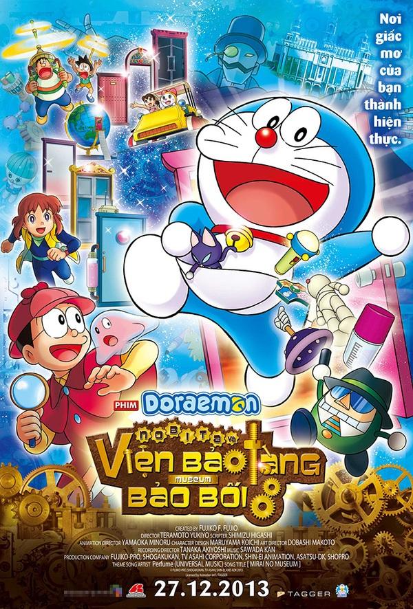 Điểm danh các phần phim về mèo máy Doraemon từng gây bão tại Nhật Bản - Ảnh 1.