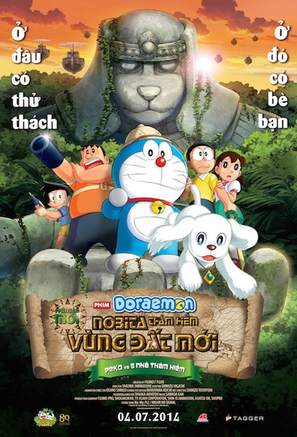 Điểm danh các phần phim về mèo máy Doraemon từng gây bão tại Nhật Bản - Ảnh 2.