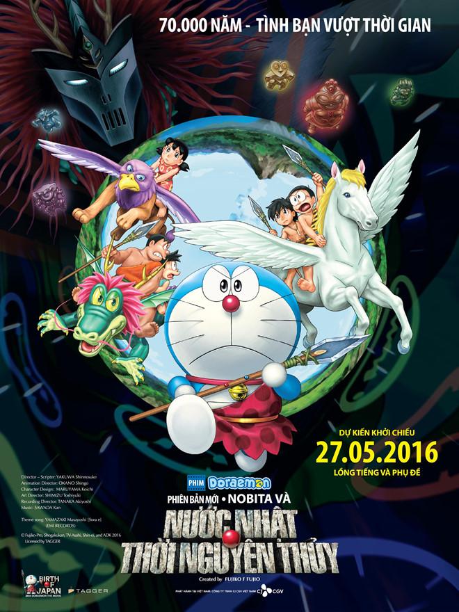 Điểm danh các phần phim về mèo máy Doraemon từng gây bão tại Nhật Bản - Ảnh 4.