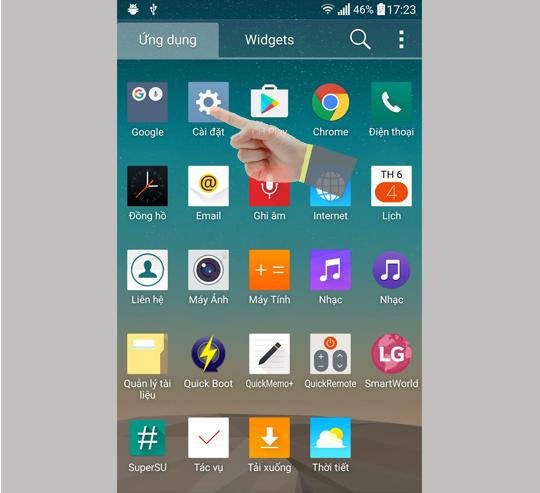 Cách xử lý lỗi điện thoại bị tắt wifi, 3G khi khóa màn hình - Ảnh 1.