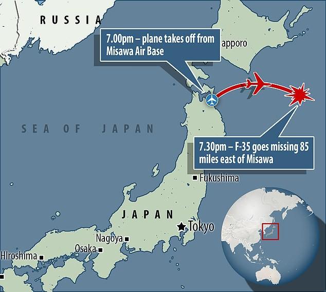 Siêu tiêm kích tàng hình F-35 Nhật Bản mất tích: Hộp đen hé lộ tai nạn khủng khiếp? - Ảnh 2.