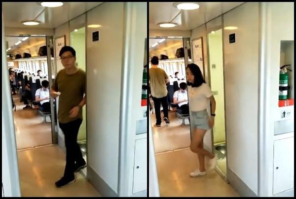 Cần sử dụng nhà vệ sinh trên xe lửa nhưng chờ quá lâu, đến khi cánh cửa mở ra người đàn ông phát hiện cảnh tượng đáng xấu hổ - Ảnh 2.