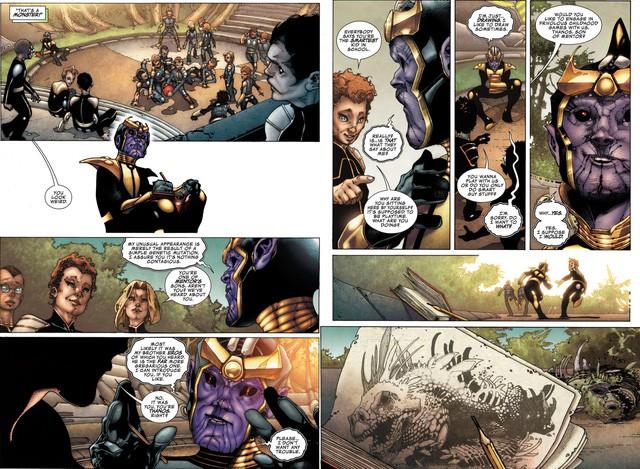 Thanos trong comics: Kẻ ác có lý tưởng hay là kẻ ham muốn giết chóc? - Ảnh 2.