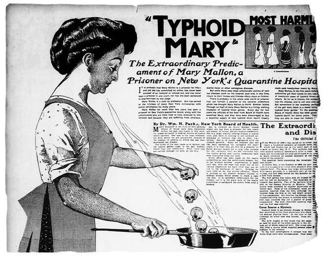 Typhoid Mary: Cô đầu bếp ngây thơ mang mầm bệnh chết người, gieo rắc nỗi kinh hoàng qua từng đĩa thức ăn - Ảnh 1.