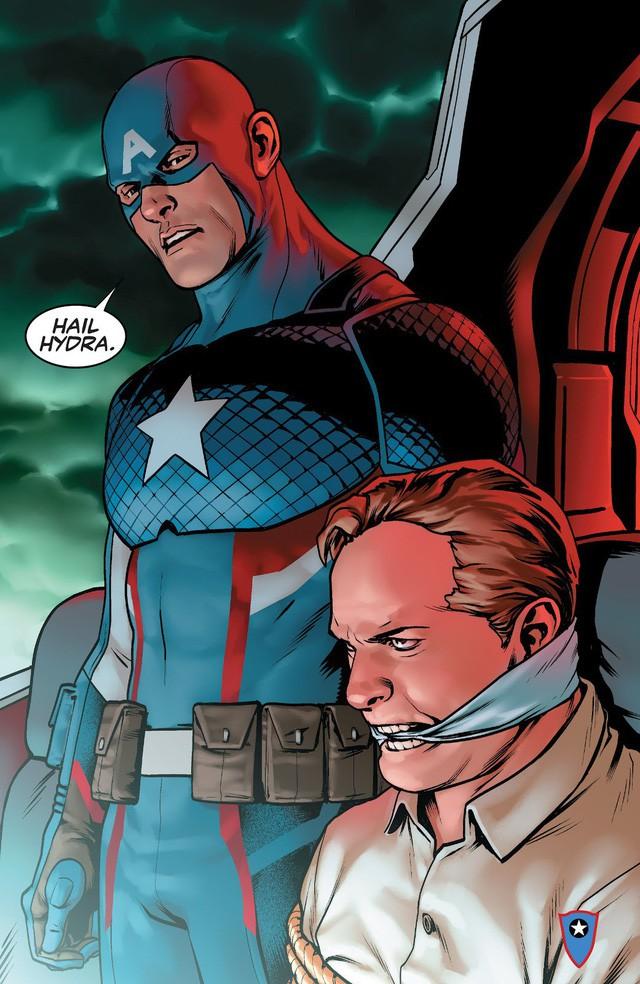 Avengers: Endgame - Lý giải nguồn gốc câu nói Hail Hydra của Captain America khiến khán giả vỗ tay rầm rầm - Ảnh 2.