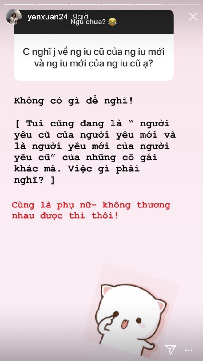 Bị hỏi về ex của bạn trai, người yêu Lâm Tây tuyên bố: Cùng là phụ nữ, không thương nhau được thì thôi! - Ảnh 2.