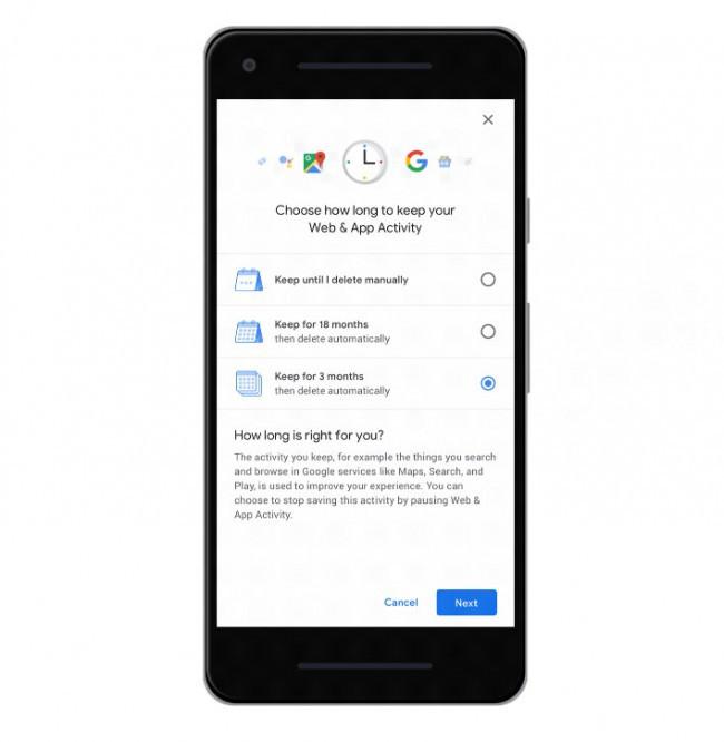Google sẽ thêm tùy chọn tự động xóa cho tính năng lịch sử vị trí - Ảnh 1.
