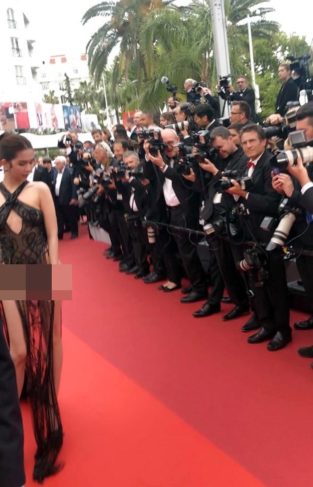 Khắc Tiệp tung bằng chứng Ngọc Trinh không bị ngó lơ tại Cannes - Ảnh 3.