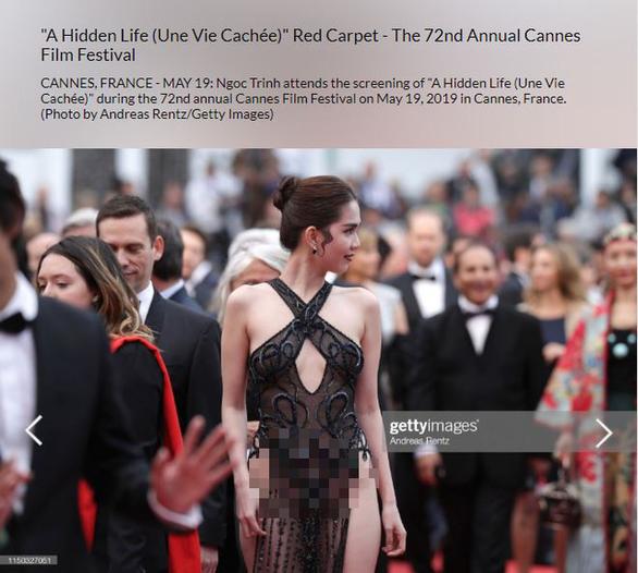 Thảm đỏ Cannes: Ngọc Trinh đạt được mục đích và nỗi xấu hổ của nhiều người Việt - Ảnh 4.