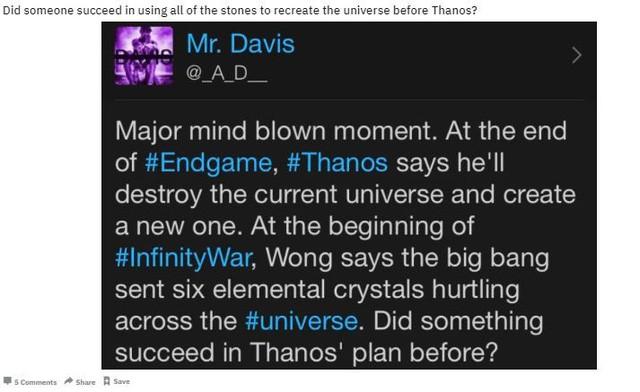 Liệu Thanos có phải kẻ đầu tiên trong lịch sử từng thực hiện cú búng tay vô cực trong Avengers: Infinity War? - Ảnh 2.
