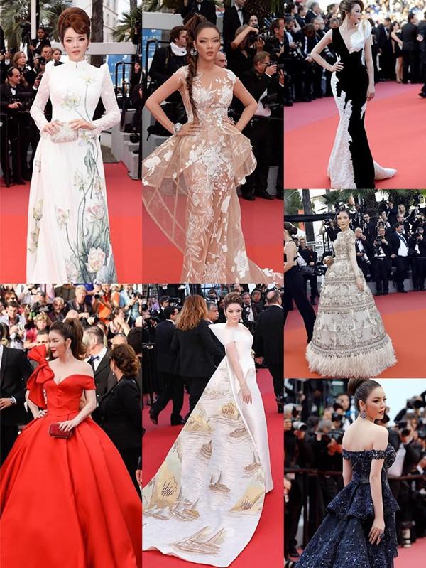 Không cần ăn mặc phản cảm như Ngọc Trinh, 4 người đẹp Việt này vẫn gây ấn tượng tại LHP Cannes - Ảnh 1.