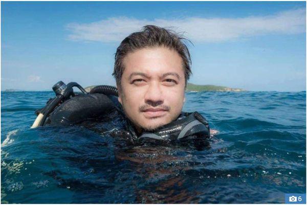 Cuộc chạm trán giữa thợ lặn và cá voi xanh hơn 30 mét trong những bức hình tuyệt đẹp - Ảnh 7.