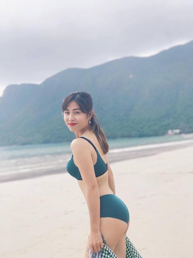 MC Hoàng Linh khoe thân hình sexy ở tuổi 34 - Ảnh 4.