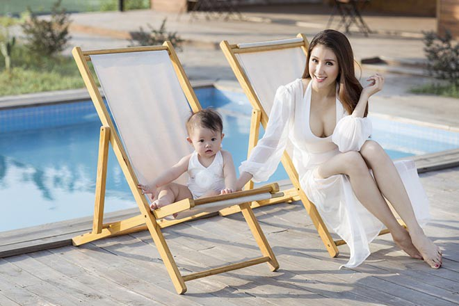 Cuộc sống của á hậu làm mẹ đơn thân, sẵn sàng chia tay bạn trai khi đang mang bầu 5 tháng - Ảnh 4.