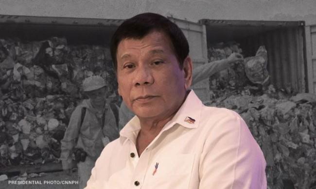 Tổng thống Philippines hạ lệnh trả rác về Canada - Ảnh 1.