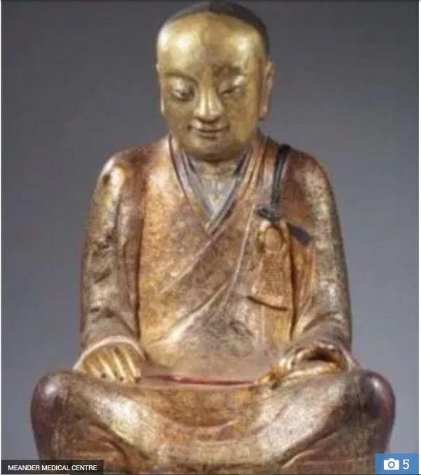 Tượng Phật 1.000 năm tuổi chứa xác ướp nhà sư chết trong thiền định - Ảnh 1.