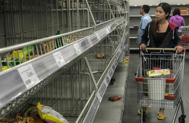 Nhân viên Auchan muốn khóc nhìn khách vừa mua, vừa ăn, vừa phá hàng hóa trong siêu thị - Ảnh 13.