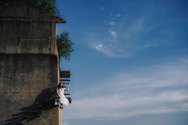"""Sự thật về góc bậc thang bỏ hoang """"cực chill"""" đang gây sốt ở Hội An: Cẩn thận không là """"một bước lên thiên đường"""" đúng nghĩa đen - Ảnh 2."""