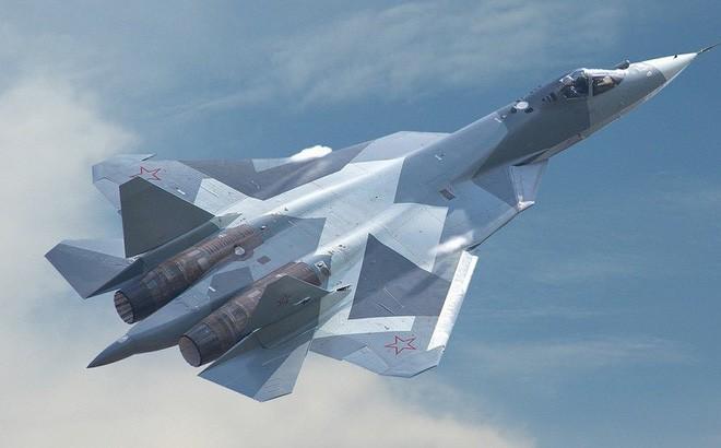 Tối hậu thư Gấu Nga gửi tới Mỹ và NATO: Nếu muốn gây chiến hãy nhớ tới 76 máy bay Su-57! - Ảnh 6.