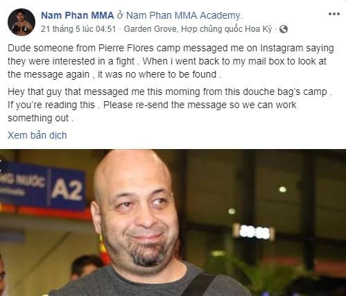 """Võ sĩ MMA người Mỹ gốc Việt: """"Nếu tôi siết cổ hoặc đánh gãy tay Flores thì sao?"""" - Ảnh 5."""