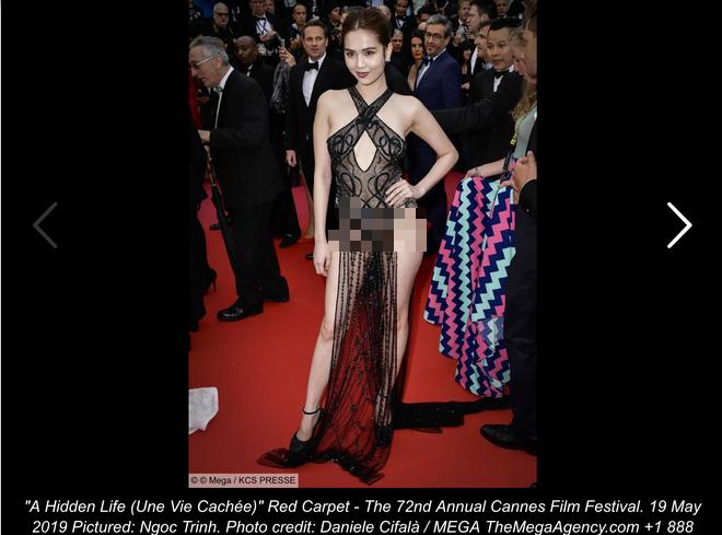 Người Pháp nhận xét về Ngọc Trinh: Nên cấm những cô gái này trên thảm đỏ LHP Cannes - Ảnh 2.