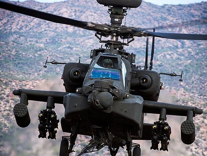 Hung thần diệt tăng Apache Mỹ vừa bị phiến quân bắn nổ tung trên không - Ảnh 10.