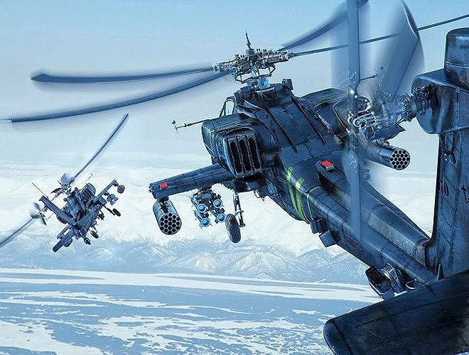 Hung thần diệt tăng Apache Mỹ vừa bị phiến quân bắn nổ tung trên không - Ảnh 11.