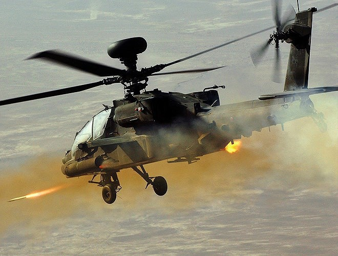 Hung thần diệt tăng Apache Mỹ vừa bị phiến quân bắn nổ tung trên không - Ảnh 13.