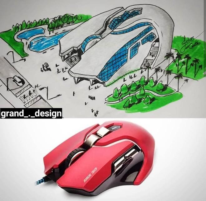 KTS biến những đồ vật quen thuộc thành công trình kiến trúc với thiết kế không tưởng - Ảnh 4.