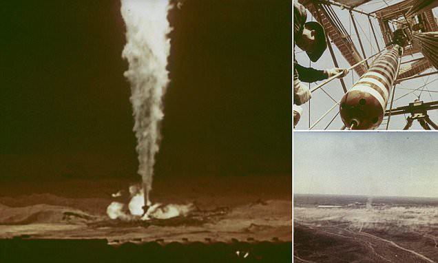 Vô hiệu hóa đám cháy khổng lồ bằng bom hạt nhân: Chỉ có thể là Liên Xô! - Ảnh 2.