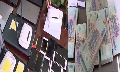 Phá đường dây đánh bạc khủng lên đến hơn 4000 tỷ đồng - Ảnh 1.