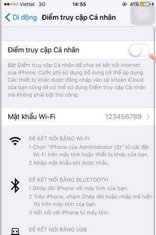 Cách chia sẻ mạng wifi trên điện thoại iPhone 6 đơn giản ít người biết - Ảnh 3.