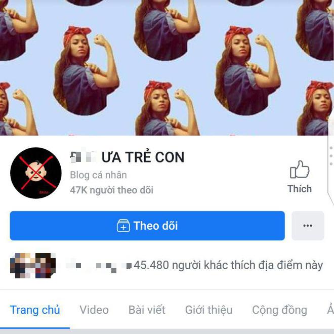 CĐM kêu gọi report fanpage 45k like trên Facebook có nội dung kỳ thị, lăng mạ trẻ em - Ảnh 1.