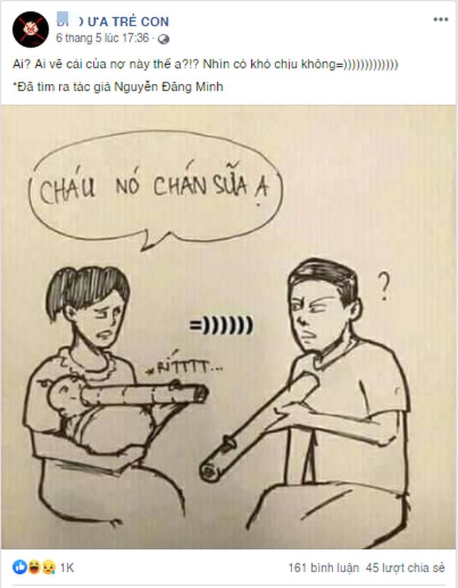CĐM kêu gọi report fanpage 45k like trên Facebook có nội dung kỳ thị, lăng mạ trẻ em - Ảnh 3.
