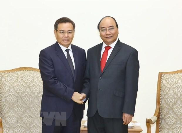 Thủ tướng tiếp lãnh đạo Campuchia và Lào sang dự Quốc tang - Ảnh 1.