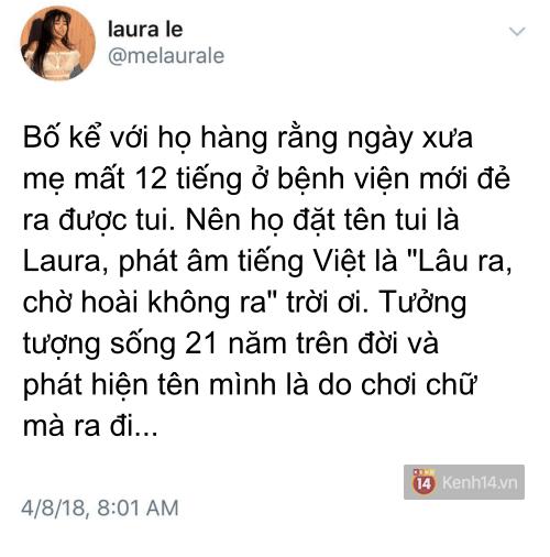 Bố mẹ quyết đặt tên con là Laura vì khó sinh, ý nghĩa cái tên được hé lộ sau 21 năm khiến cô con gái đỏ mặt - Ảnh 1.
