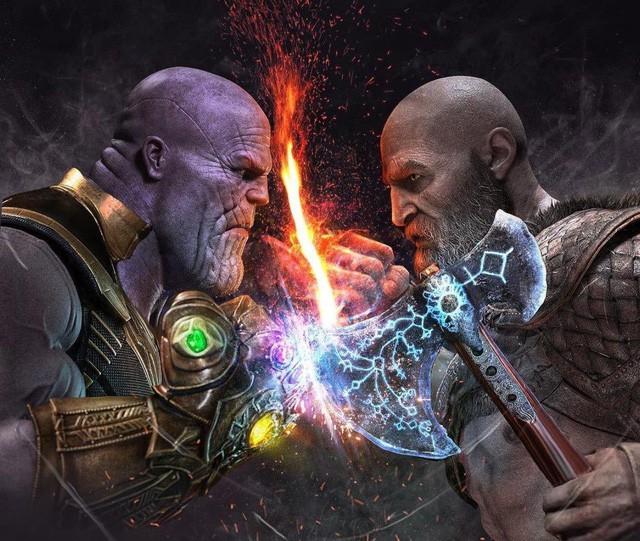 Sau tất cả, liệu chiến thần Kratos có cửa nào để đánh lại Thanos hay không? - Ảnh 3.
