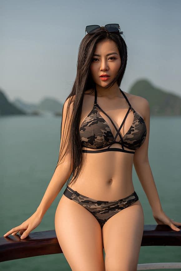 Bảo Thanh, Phương Oanh, Thanh Hương: 3 nữ hoàng bikini của màn ảnh Việt - Ảnh 9.