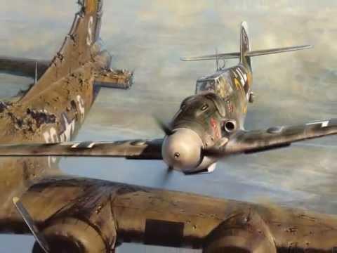 Thấy máy bay của địch bốc khói, phi công Đức bám theo và làm 1 việc không ai có thể ngờ - Ảnh 3.