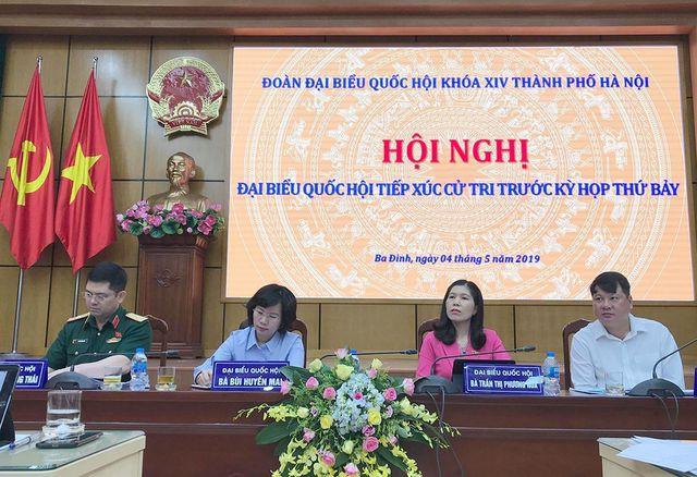 Cử tri Hà Nội: Mong Tổng Bí thư, Chủ tịch nước mau bình phục để tiếp tục trọng trách - Ảnh 1.